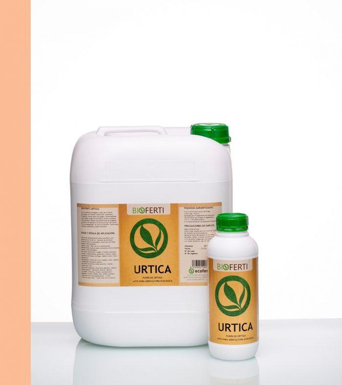 BIOFERTI URTICA es un producto ecológico a base de extracto de ortiga con función insecticida, acaricida y fungicida. Actúa sobre las plagas y enfermedades con amplio rango de actividad y acción completa.