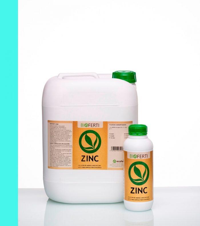 BIOFERTI ZINC incrementa el rendimiento de los cultivos y mejora la calidad del fruto (grados brix, polifenoles y color).