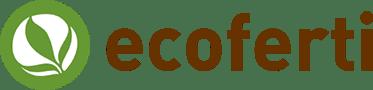 ECOFERTI organic fertilisers and pesticides. Logo